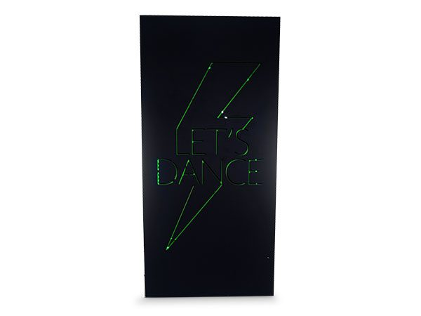Giant Lets Dance LED Sign