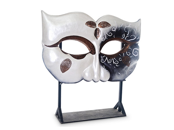 Giant Masquerade Masks black