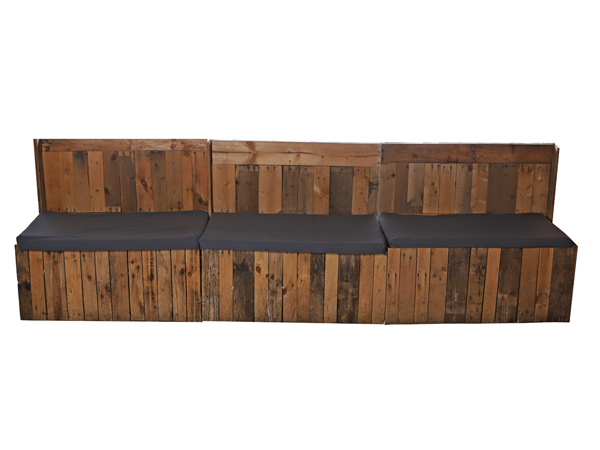 Straight Pallet Sofa For Hire