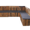 Pallet Sofa - L Shape For Hire