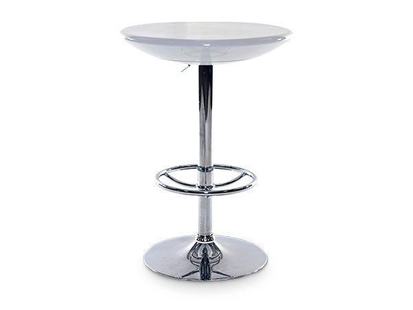 White Poseur Tables