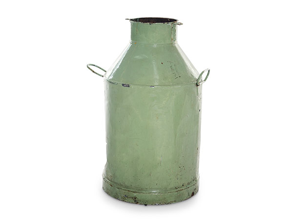 green milk churns