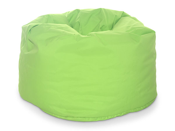 round beanbag seating green