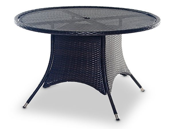 Exceptionnel Round Rattan Tables