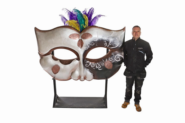 Giant Rio Themed Mask Prop 3