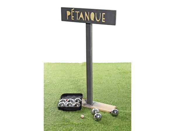 Petanque Game and Signage