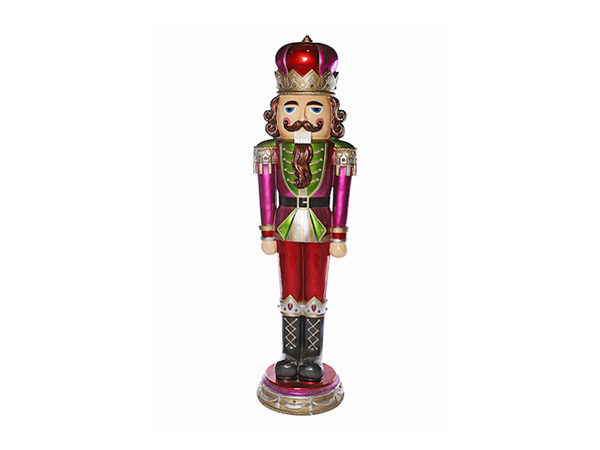 Purple-and-Red-Nutcracker-Statues-1