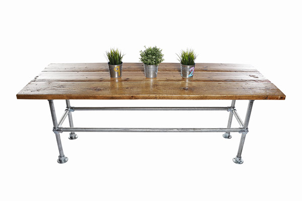 Industrial Scaffold Board Low Table Extra Long