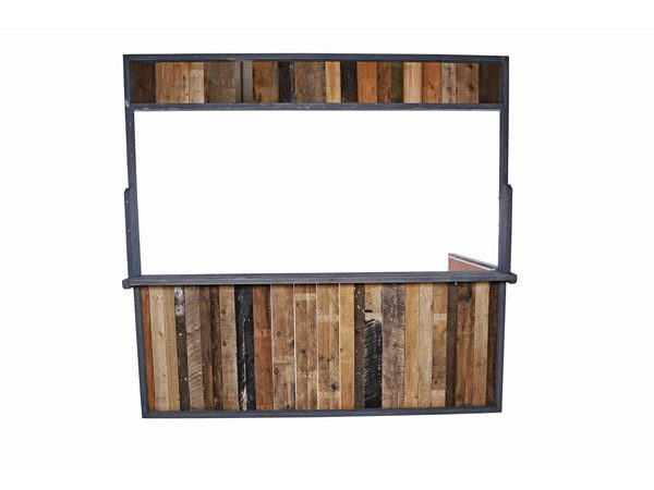 Street Food Facias – Reclaimed Wood