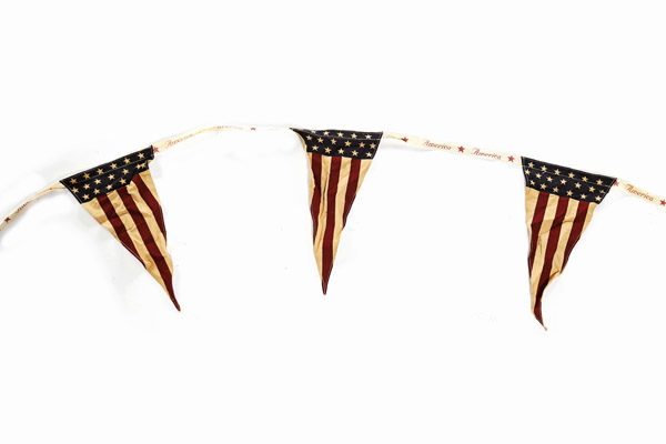 Vintage American Bunting