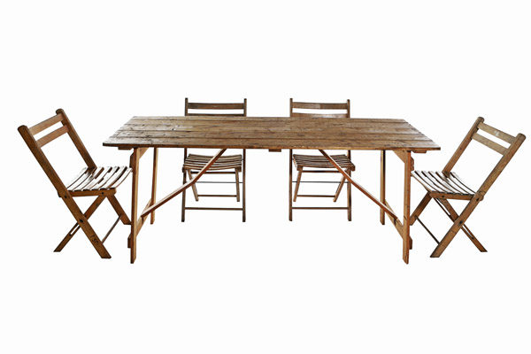 Vintage Trestle Tables