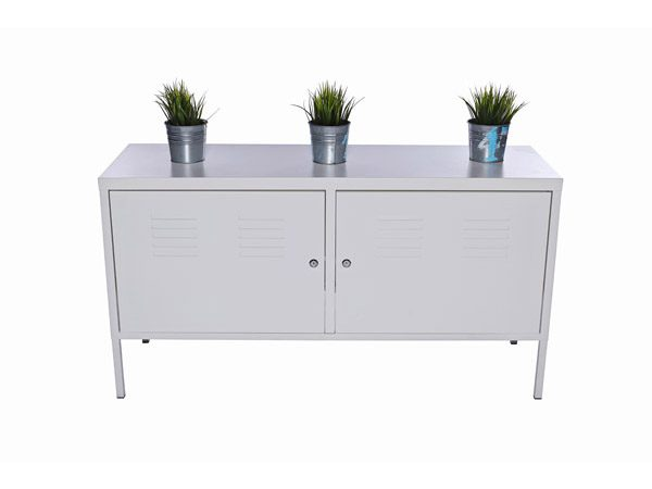 White Cabinets Lockers Hire