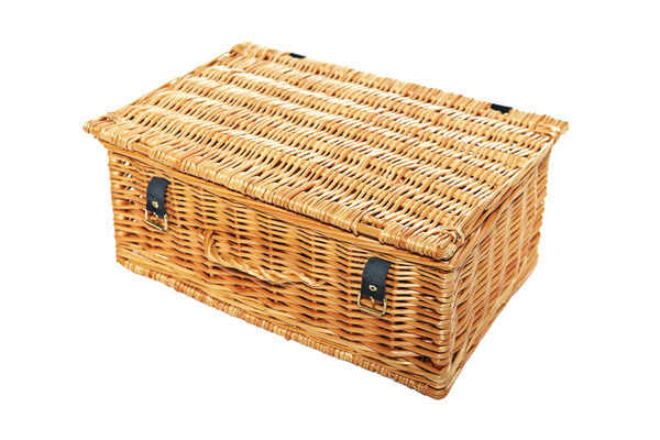 Wicker Picnic Basket For Events