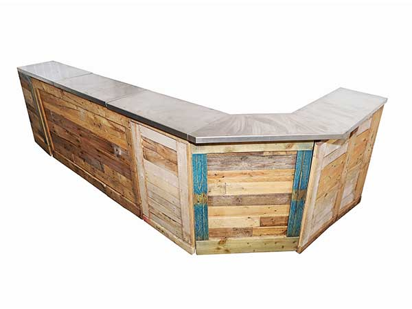 L shape pallet bar for hire