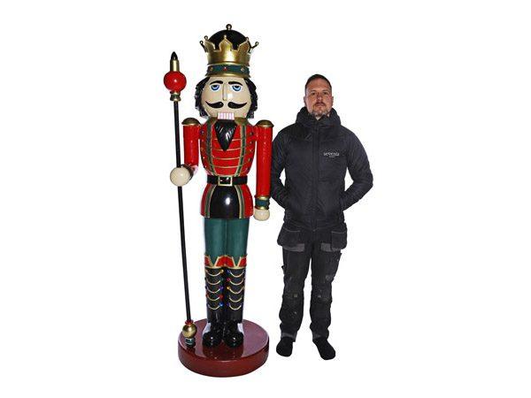 Nutcracker Statue Prop