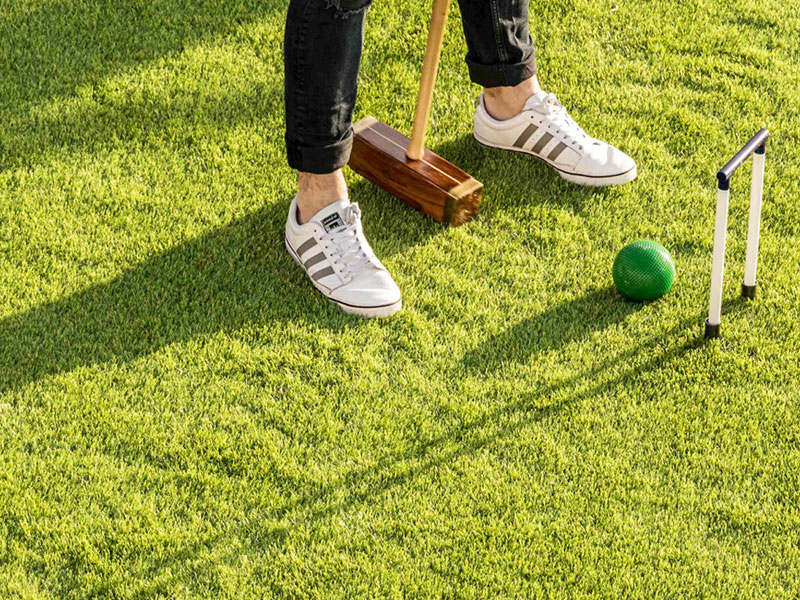 Outdoor Croquet Game