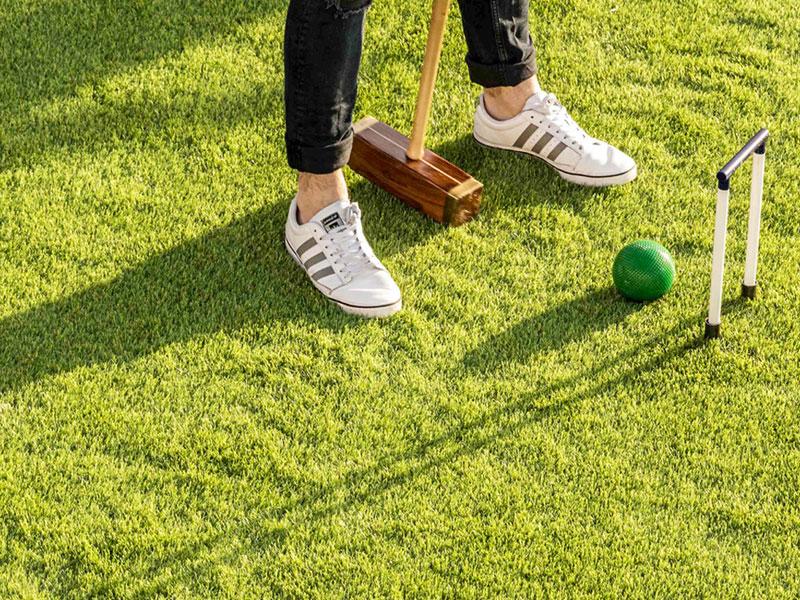 Outdoor Croquet Game