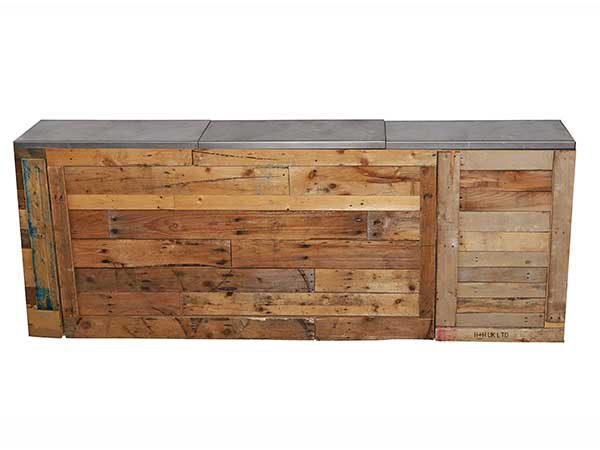 Straight pallet bar hire