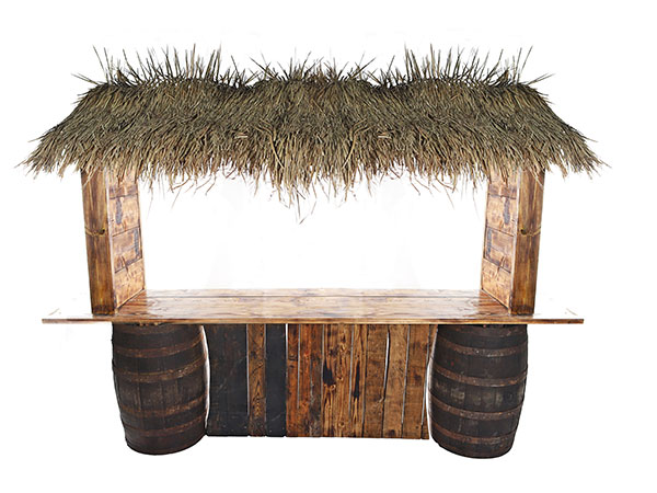 Tiki bar for event hire