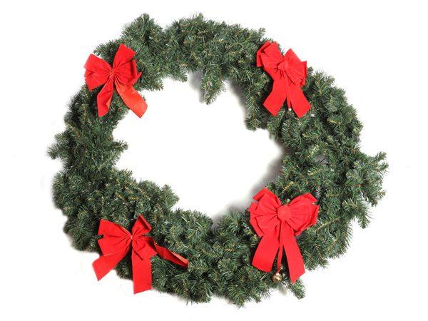 Christmas Reef.Giant Christmas Wreath