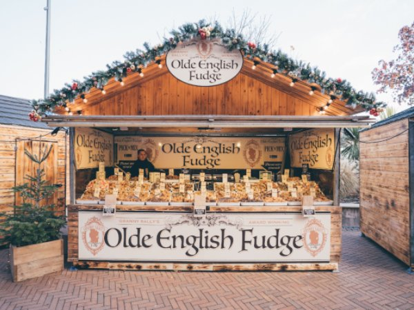 Wooden Hut for hire as christmas market stall