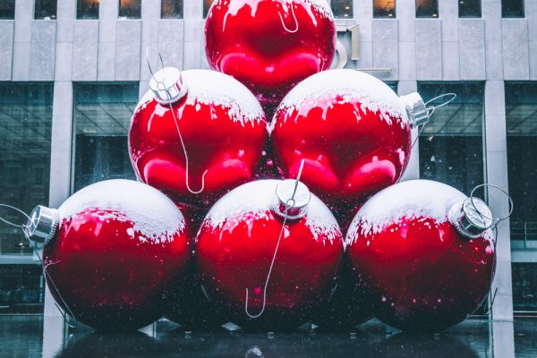 Giant Christmas Baubles