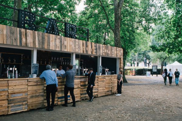 Pop Up Container Bar For Hire