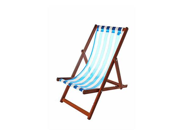 Blue Deck Chair For Hire