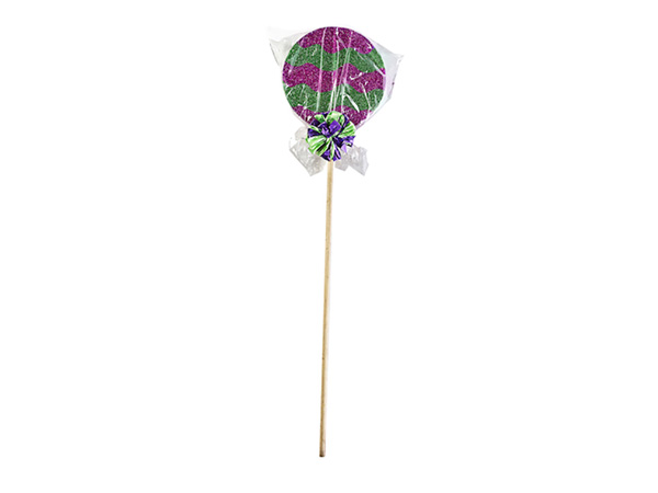 Giant Green and Purple Lollipop