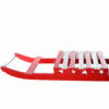 Red and White Wooden Sledge Prop