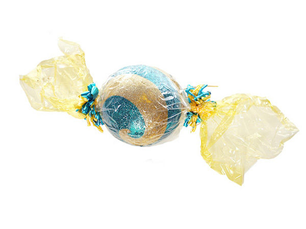Giant Gold and Turquoise Sweet