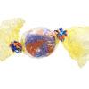 Giant Orange and Blue Sweet
