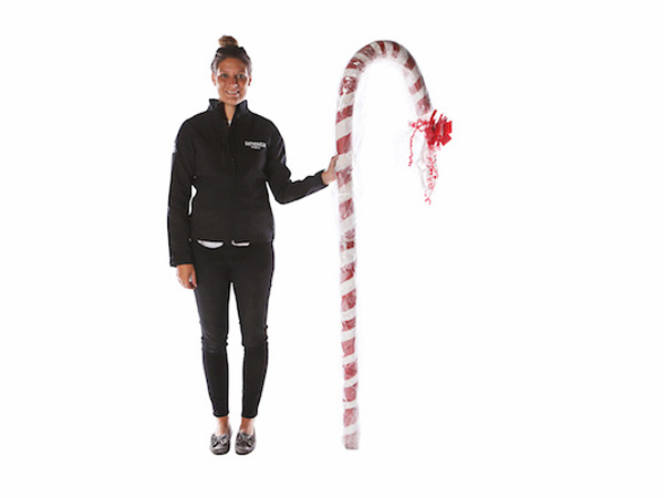 Giant Red and White Candy Cane