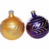 Gold & Purple Bauble