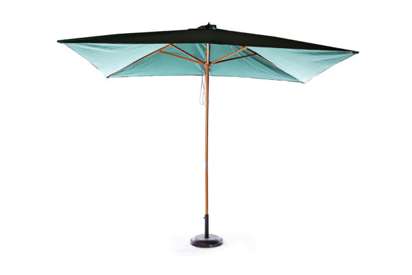Green Rectangular Parasol