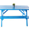 Blue Picnic Bench to hire