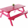 Picnic Bench Pink