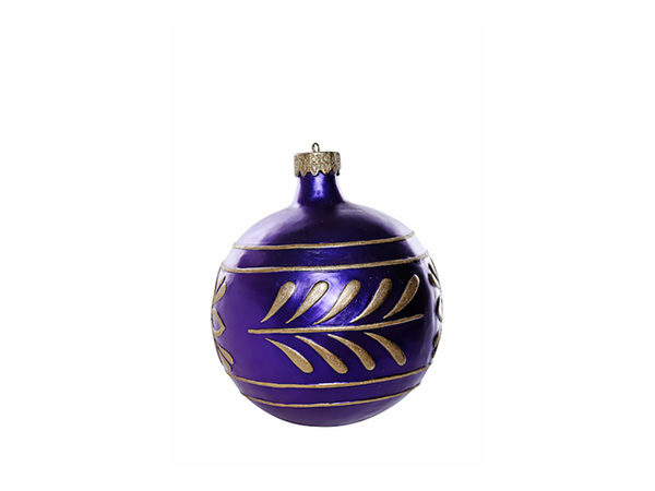 Purple Med Bauble
