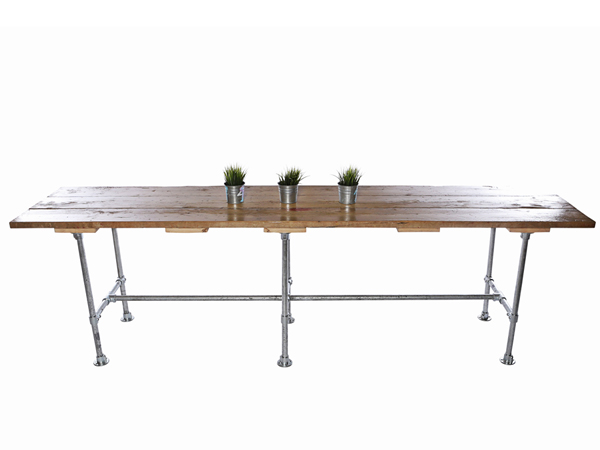 Industrial Scaffold Table