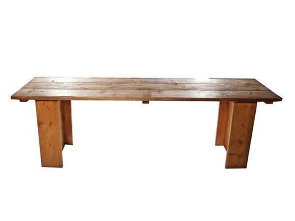Reclaimed Scaffold Board Table