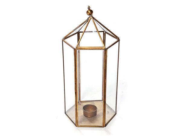 Brass Lantern - Event Decorations