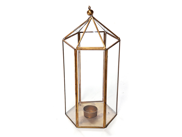 Brass Lantern - Event Decorations