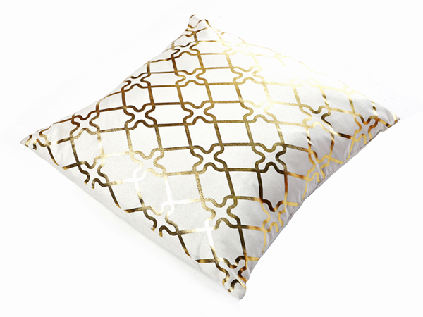 Gold and White Cushion - Event Venue Decor