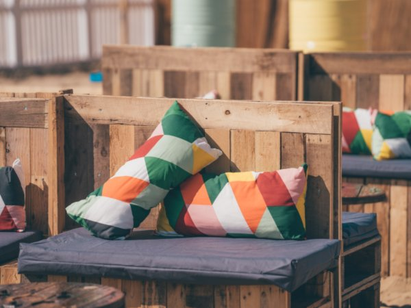 Multi Coloured Cushions
