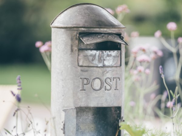 Vintage Post Box For Event Hire
