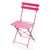 Pink Bistro Chair For Event Hire