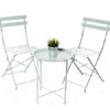 Mint Green Bistro Table and Chair Set For Hire