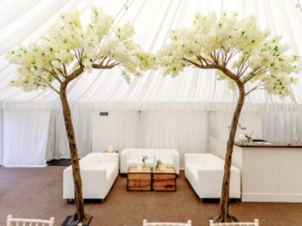 Blossom Archway in event venue