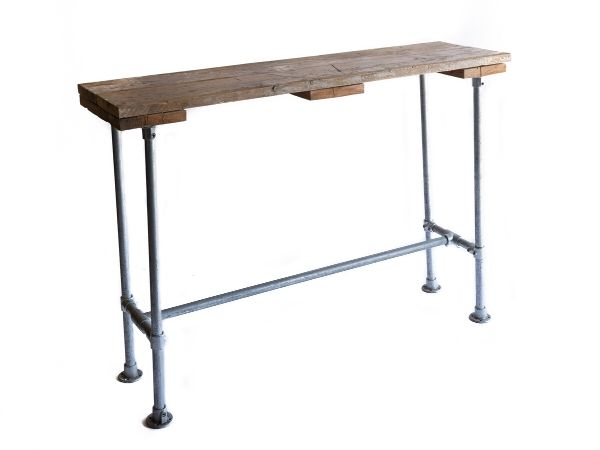 Industrial Scaffold Poseur Table