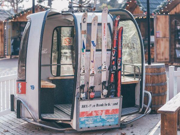 Ski Gondola Prop